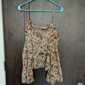 [Boohoo] Floral top